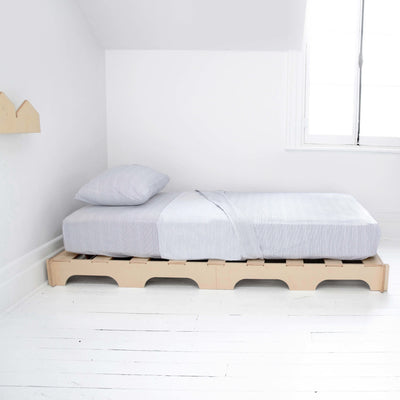 Base de lit palette Luno || Luno pallet bed base