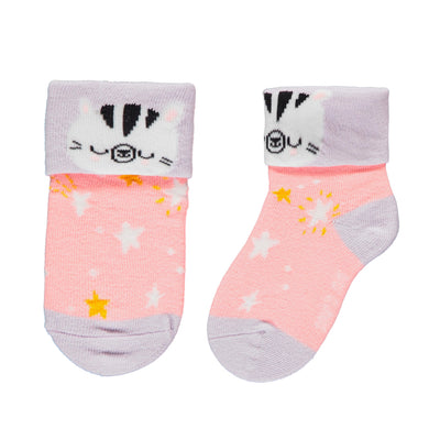 Chaussettes roses en ratine || Pink Terry Socks