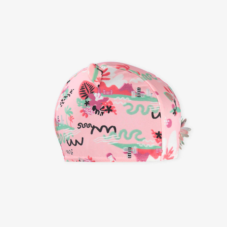 Bonnet de bain rose || Pink Swim Cap