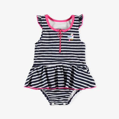Maillot une-pièce nautique || Nautical One-piece Swimsuit