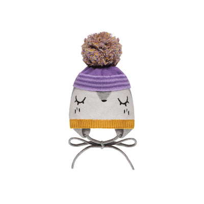 Tuque grise et mauve || Grey and Purple Toque