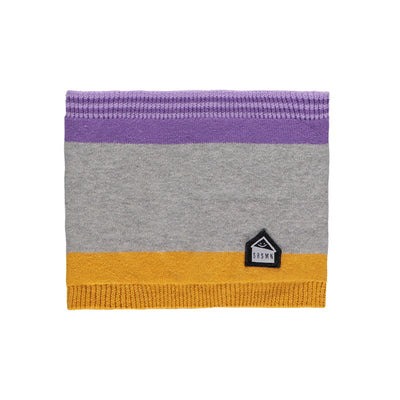 Cache-cou gris et mauve || Grey and Purple Neck Warmer