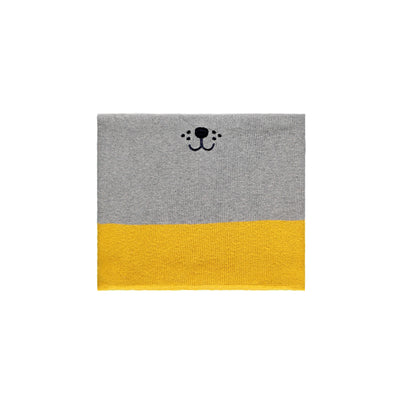 Cache-cou gris, jaune et orange || Grey, Yellow and Orange Neck Warmer