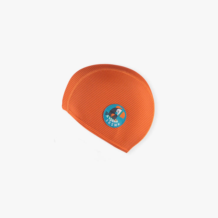 Bonnet de bain orange || Orange Swim Cap