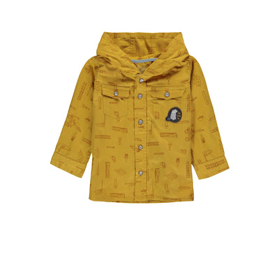 Chemise jaune de twill  || Yellow Twill Shirt