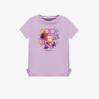 T-shirt mauve || Purple T-shirt