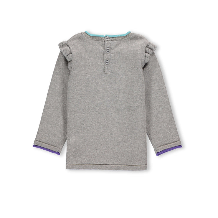Chandail gris de maille  || Grey Knit Sweater