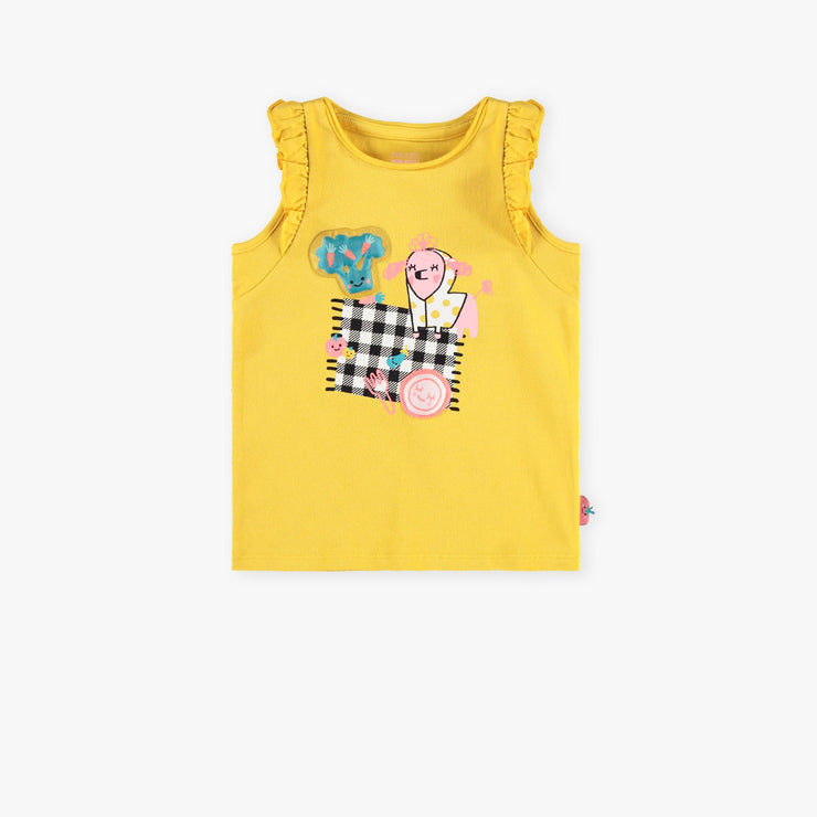 Camisole jaune || Yellow Tank Top