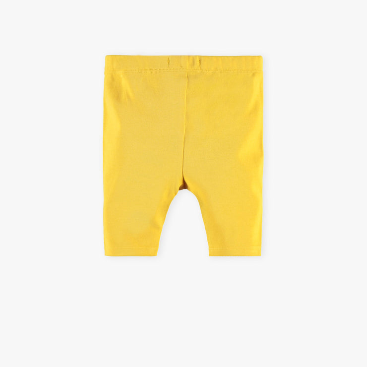 Legging ¾ jaune  || Yellow ¾ Leggings