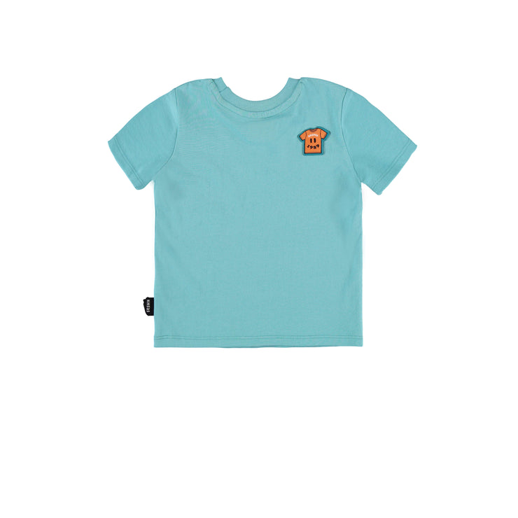 T-shirt bleu pâle || Light Blue T-shirt