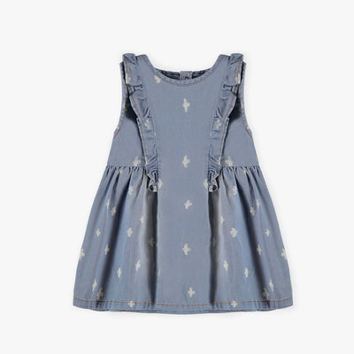 Robe en denim léger || Light Denim Dress