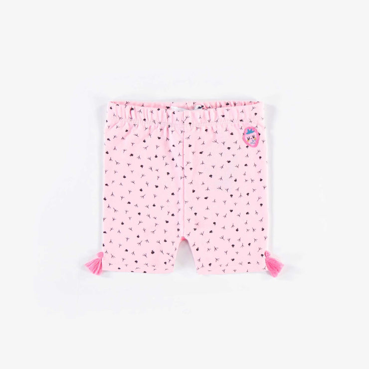 Legging court rose || Short Pink Leggings