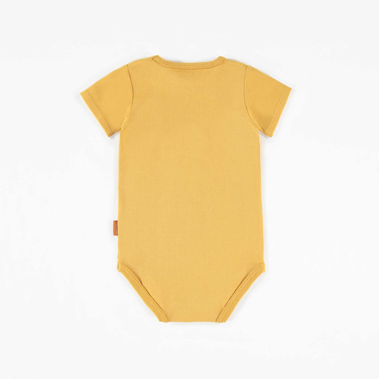 Cache-couche jaune || Yellow Bodysuit