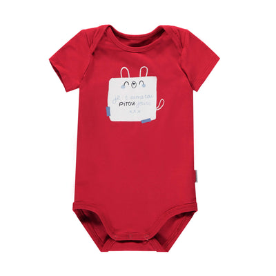 Cache-couche rouge || Red Bodysuit