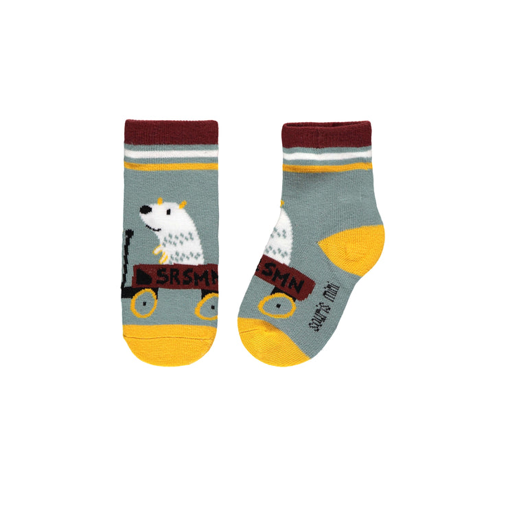 Chaussettes ours polaire || Polar Bear Socks