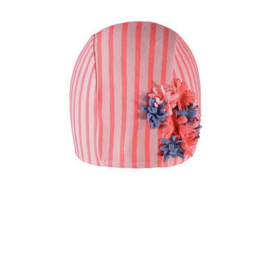 Bonnet de bain rayé || Striped Swim Cap