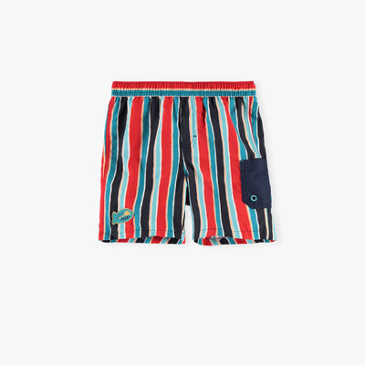 Short de bain à rayures || Striped Swim Shorts