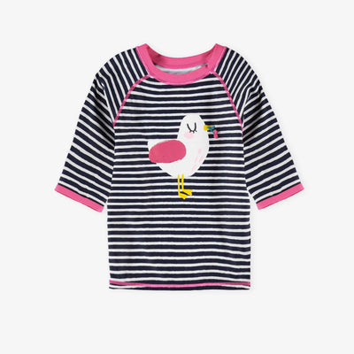 T-shirt de bain rayé || Striped Swim T-shirt