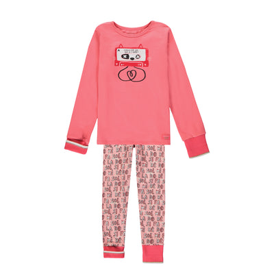 Pyjama deux-pièces évolutif à manches longues || Adjustable Two-piece Pyjamas with Long Sleeves