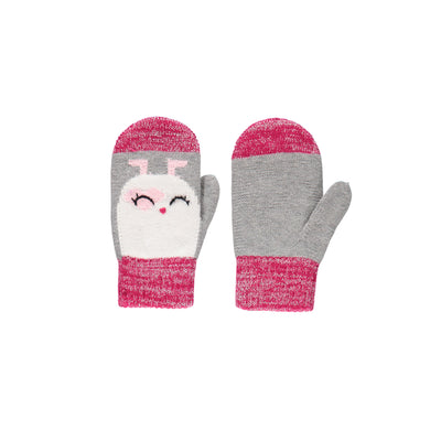 Mitaines roses et grises  || Pink and Grey Mittens