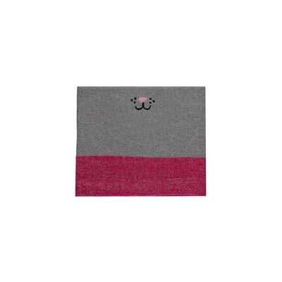 Cache-cou rose et gris  || Pink and Grey Neck Warmer
