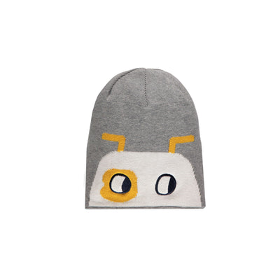 Tuque grise et jaune || Grey and Yellow Toque
