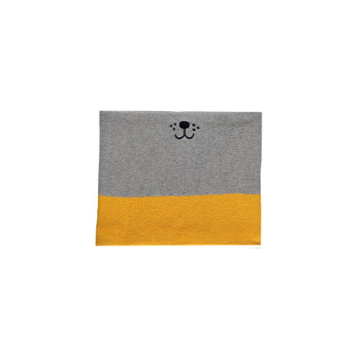 Cache-cou gris et jaune  || Grey and Yellow Neck Warmer