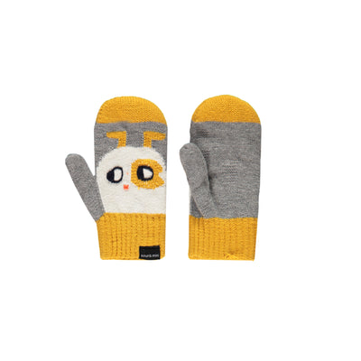 Mitaines grises et jaunes  || Grey and Yellow Mittens