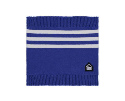 Cache-cou bleu et blanc  || Blue and White Neck Warmer