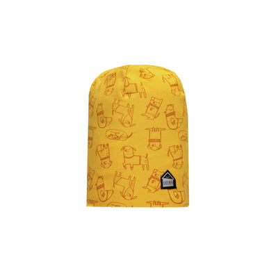 Tuque jaune en jersey || Yellow Jersey Toque