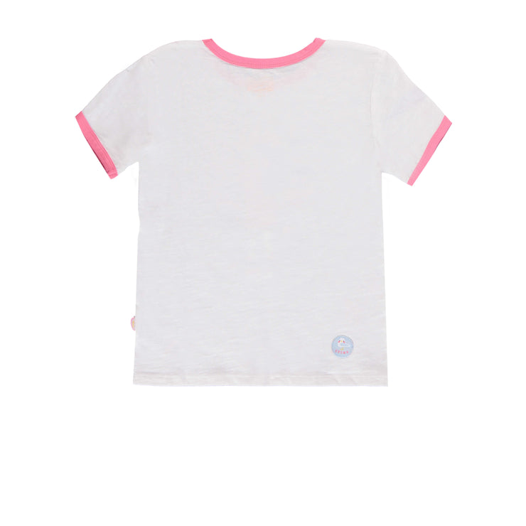 T-shirt blanc à manches courtes || White Short-Sleeve T-shirt