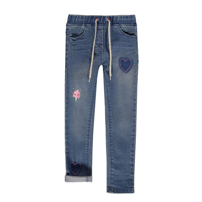 Jegging de denim - Coupe ajustée  || Denim Jeggings - Skinny Fit