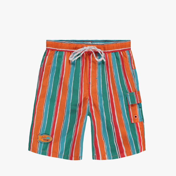Bermudas de bain à rayures || Striped Swim Short