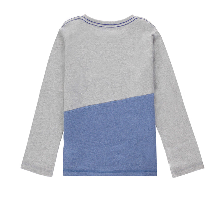 T-shirt gris à manches longues  || Grey Long-sleeve T-shirt