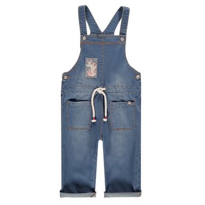 Salopette en denim - Coupe ample|| Denim Overall - Loose Fit