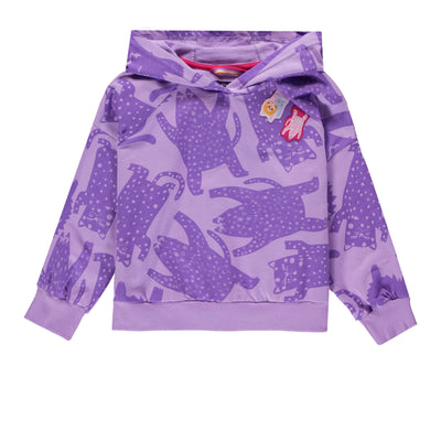 Chandail mauve en coton français  || Purple French Terry Sweater