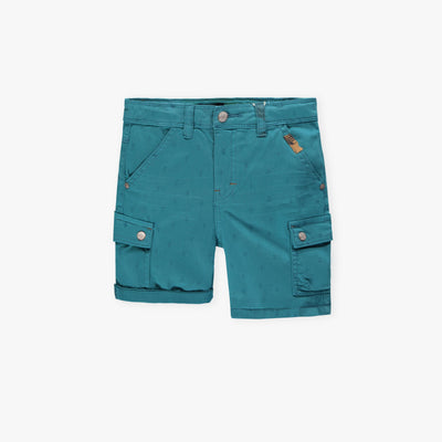 Bermuda de denim turquoise || Teal Denim Shorts