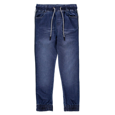 Pantalon de coton français denim || Denim Terry Pants