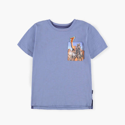 T-shirt bleu || Blue T-shirt