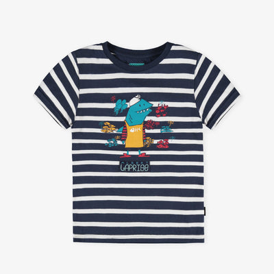 T-shirt marine à rayures || Navy Striped T-shirt