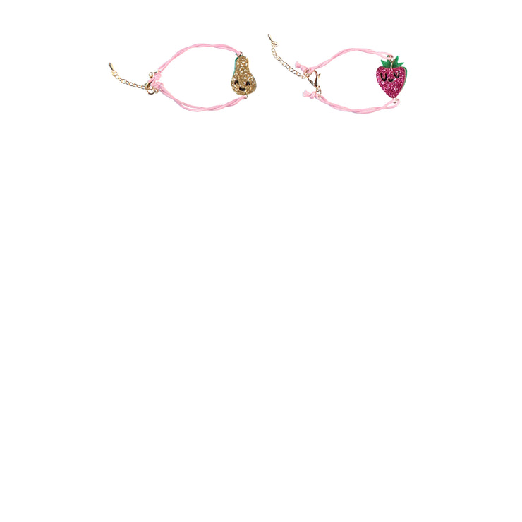 Ensemble de deux bracelets - Fruits || Set of Two Bracelets - Fruits