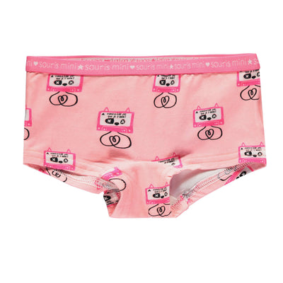 Culotte garçonne rose || Pink Mix & Match Boy Short