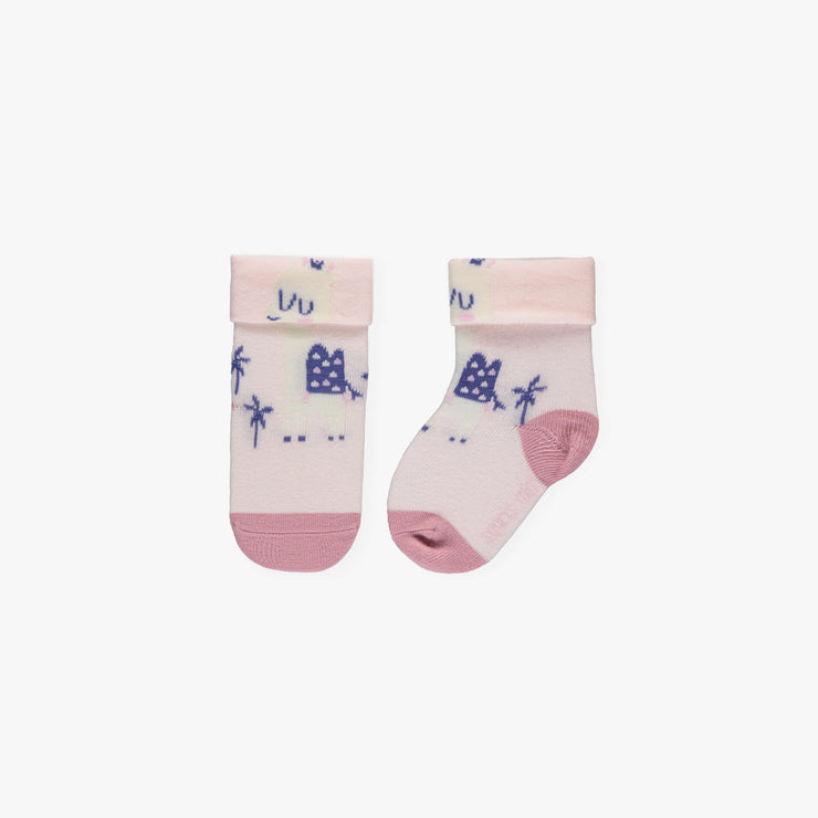 Chaussettes mauves et roses || Purple and Pink Socks
