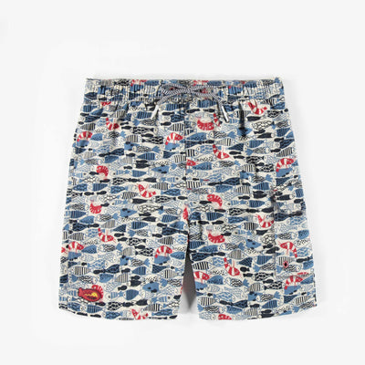 Bermudas de bain – Univers marin, pour homme adulte || Fish Swim Shorts – Fish design, for Men