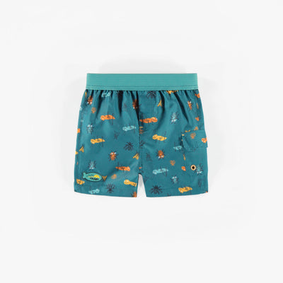 Short de bain à motifs, bébé garçon || Patterned Swim Shorts, baby boy