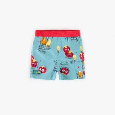 Bermudas de bain Au marché, bébé garçon || At the market Swim Shorts, baby boy