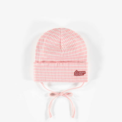 Tuque rose en coton biologique || Pink organic cotton Toque