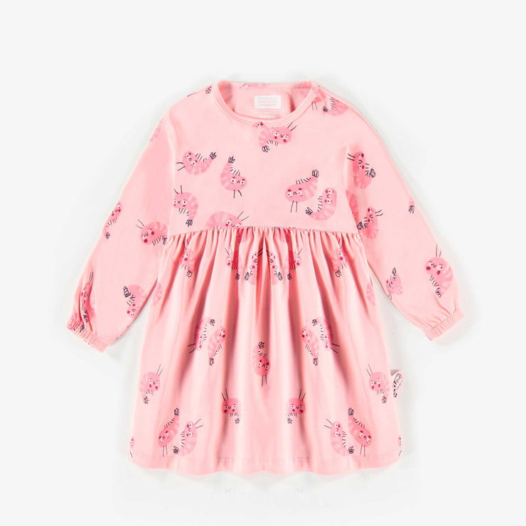 Robe rose à motifs  || Pink Pattern Dress