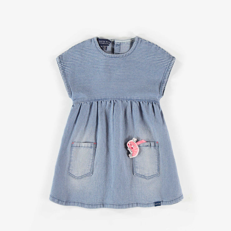 Robe de denim   || Denim Dress