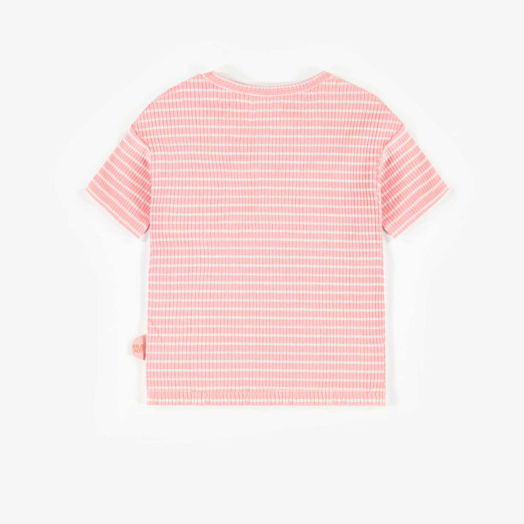 T-shirt rayé biologique  || Striped Organic T-shirt